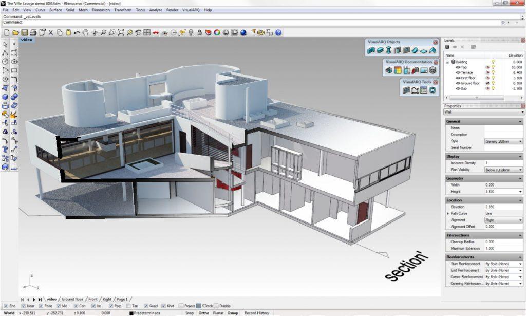 آموزش راینو rhino 5 tutorial architecture